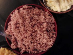 Red Rice Bhutanese Food