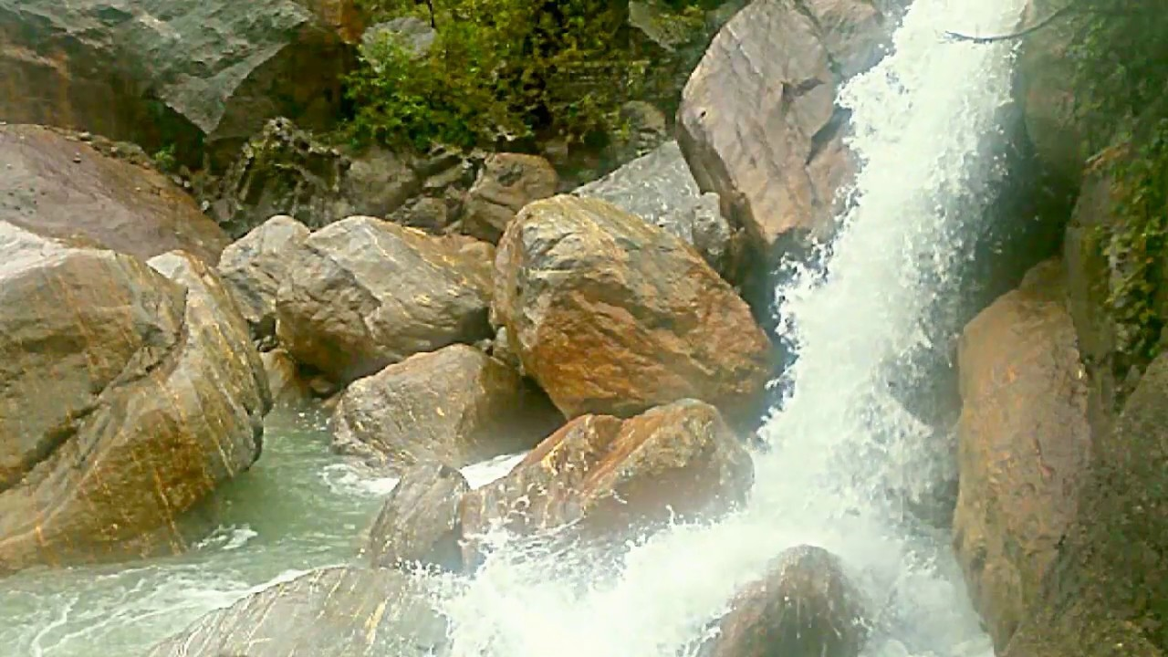 Waterfall on Phuntsholing Thimphu Highway - Amedewa Tours & Trek