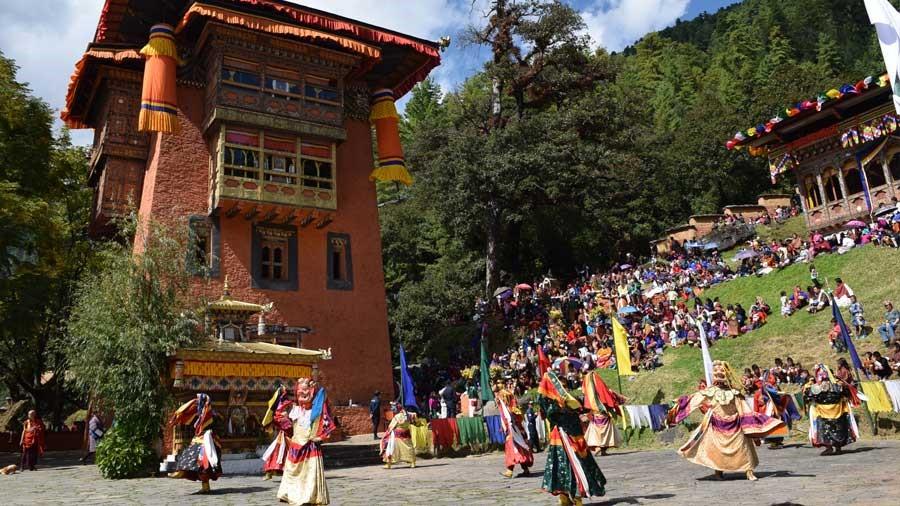 Dechenphu Tshechu Festival - Amedewa Tours and Trek