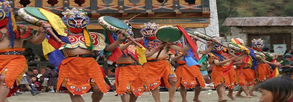 Domkhar Tshechu Festival - Amedewa Tours and Trek