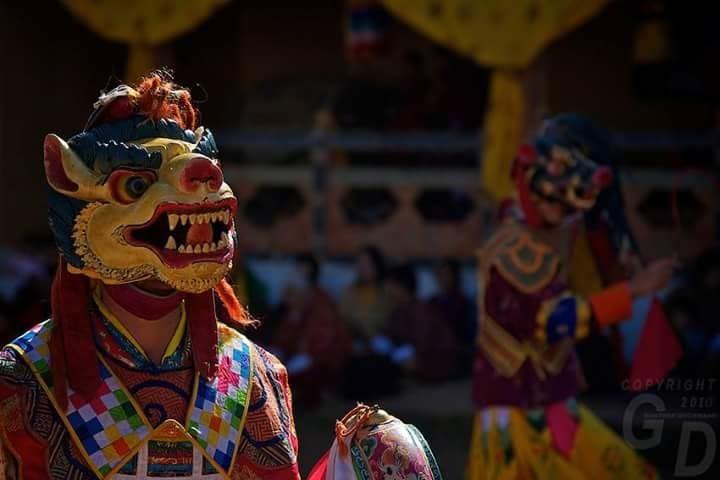 Jambay Lhakhang Singye Cham - Amedewa Tours and Trek