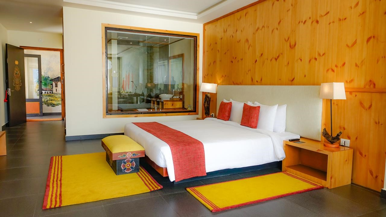 The Postcard Dewa _ Luxury stay in Bhutan Room